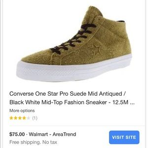 8e59bbe0ba0a74 Converse Shoes -  80 Converse One Star Pro Suede Mid Antiqued